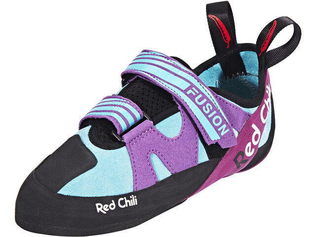 Red Chili Fusion VCR - Chaussures d'escalade Femme - violet/turquoise